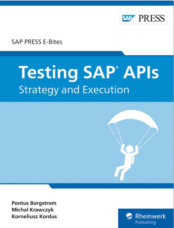 Testing SAP APIs SAP Press book