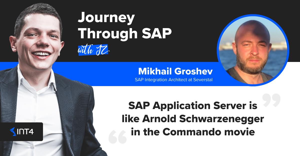 Sap Application Server Is Like Arnold Schwarzenegger In The Commando Movie Int4