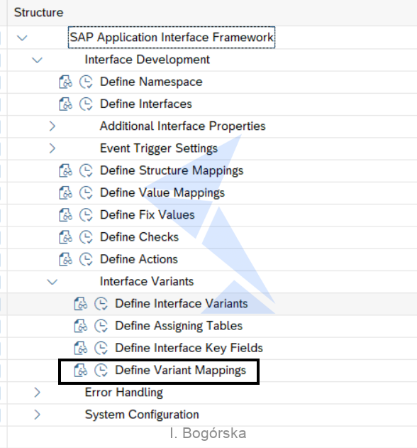 Define Variant Mappings