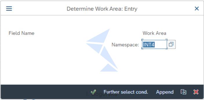 Determine Work Area