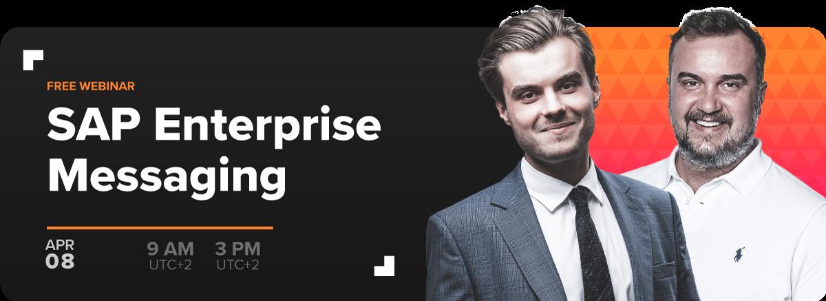 SAP Enterprise Messaging - Free Webinar